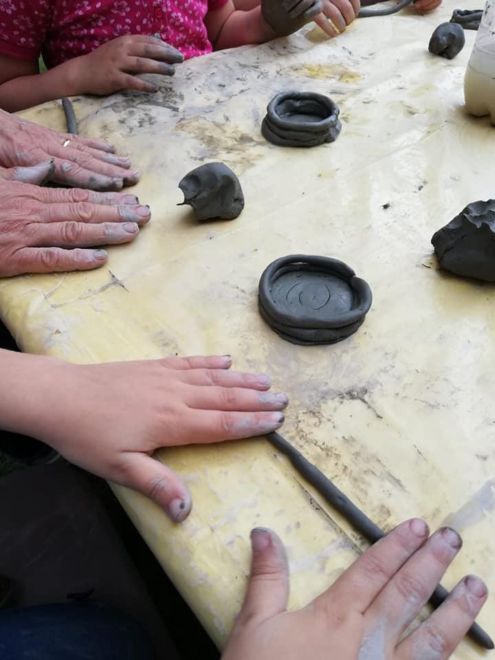 La bottega del vasaio (argilla)